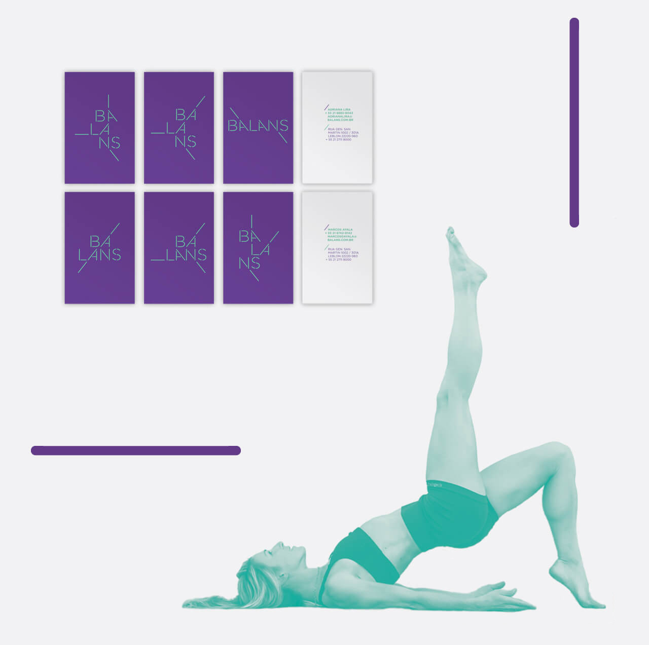 Logo design for Balans Pilates Studio