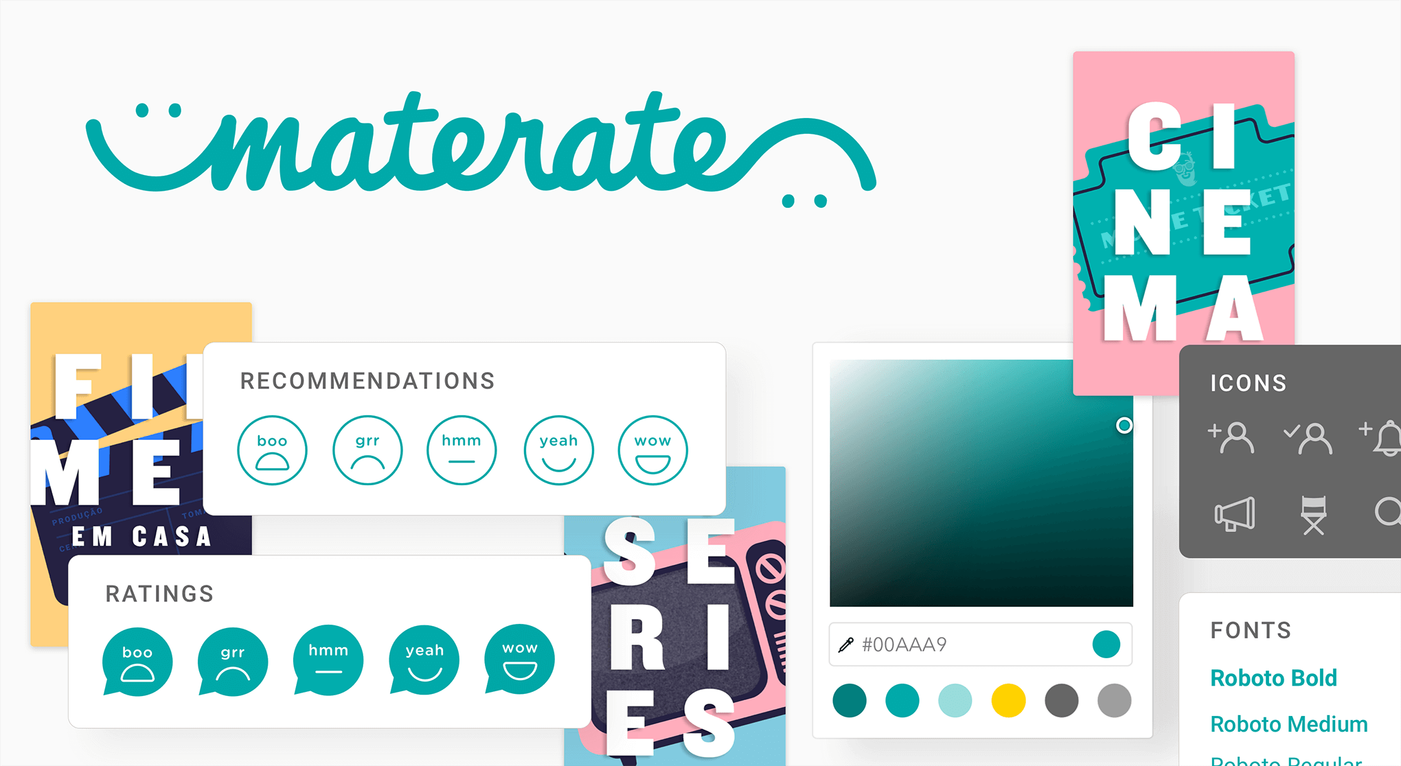 MateRate style guide